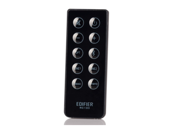 edifier speakers remote