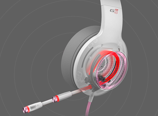 gaming headphones with mic wireless